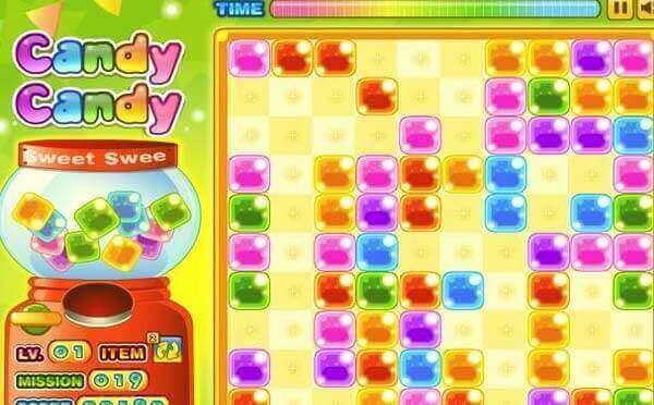 彩虹糖果机小程序,休闲益智小游戏_游戏小程序测评