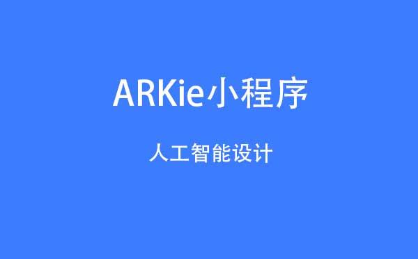 ARKie小程序,人工智能设计_设计小程序测评