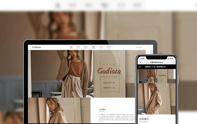 服装网站建设-小程序开发案例