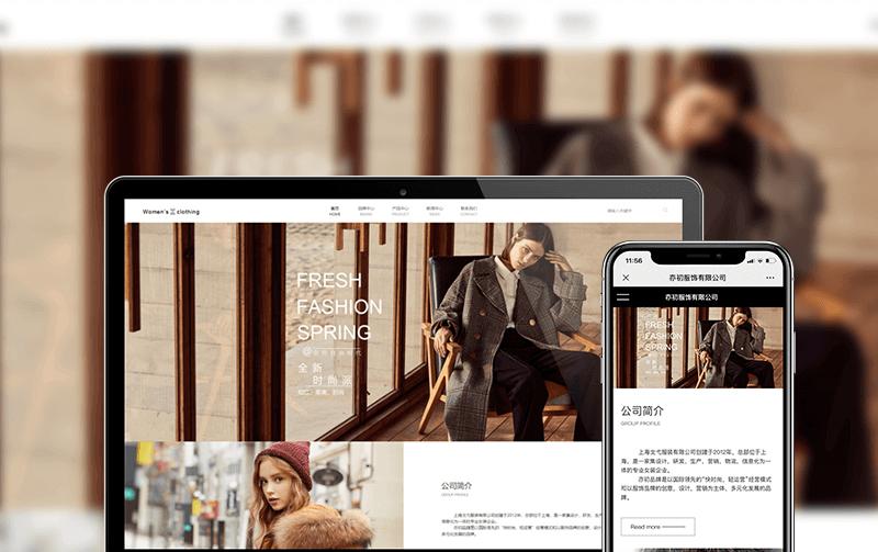服饰网站建设-小程序开发案例